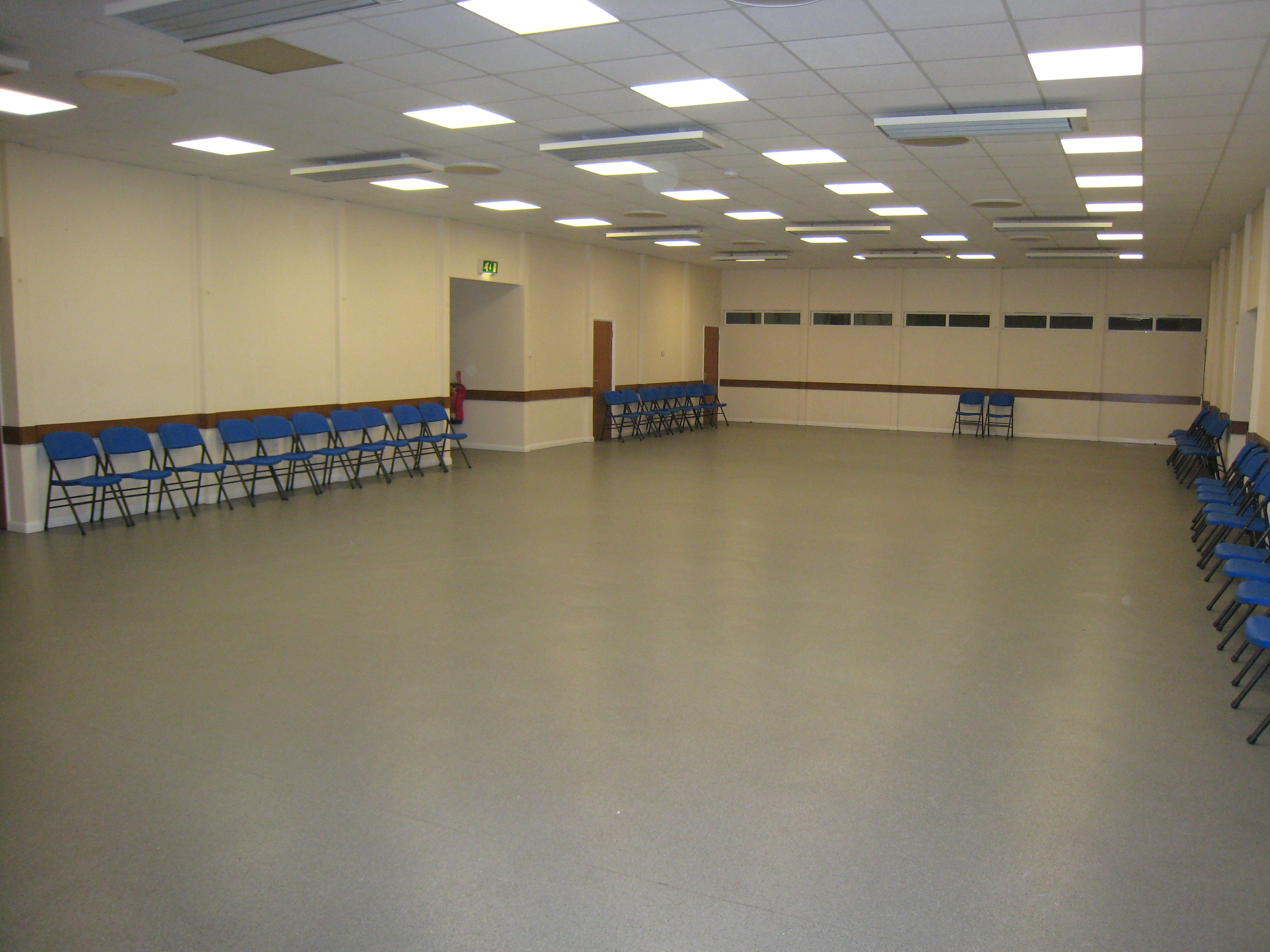 Photo of empty hall